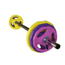High Quality Fitness 19KG Rubber Pump Set PS-001 -Vigor