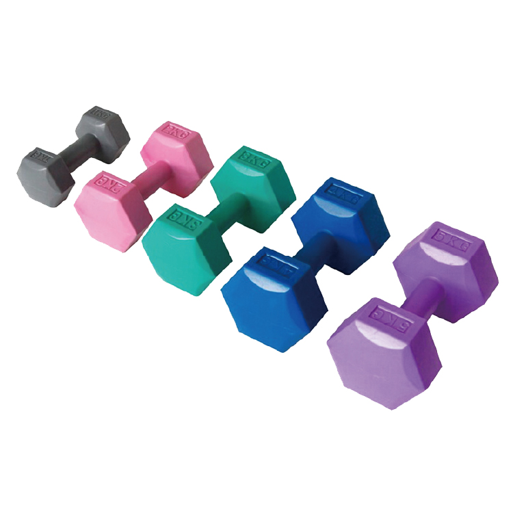 China adjustable Hexaron Cement Dumbbell Cap for sale Vigor - DB-C-401