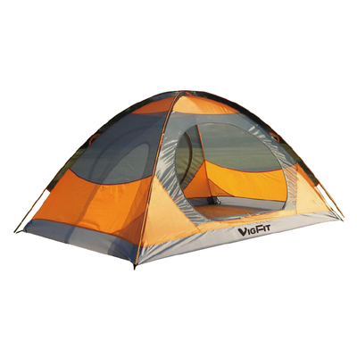 Custom Printed Logo Double Layer UV Protection 1 2 3 4 Person Waterproof Folding Automatic pop up Outdoor Camping Tent CT-005 -Vigor