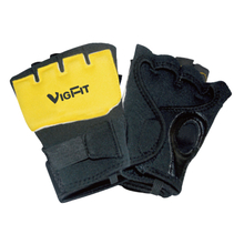 China Yellow Training Gloves with Logo Vigor - GL-003