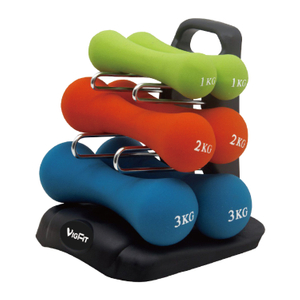 China Certificated Fitness Center 15KG Dumbbell Set Vigor - DBS-D-001